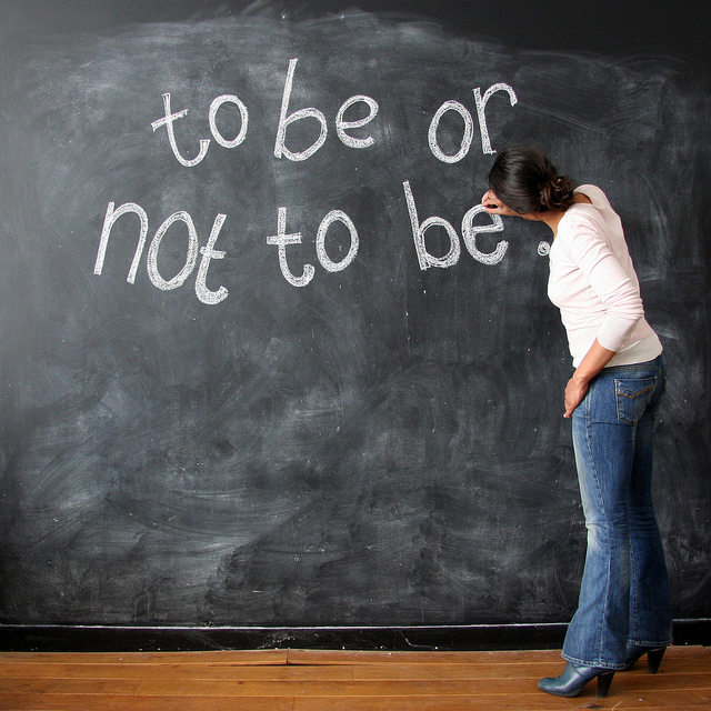 to be or not to be essay